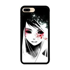 Ghost Girl iPhone 7 Plus Rubber Case iPhone 7 Plus Rubber Case (5.5 Inch) Black - SnapMade