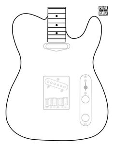 Mylk Project Kes Telecaster Templates Board