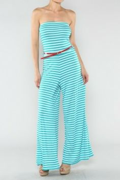 salediem.com Beautiful Maxis and Rompers Shipping always FRee Stripe Knit Jumpsuit