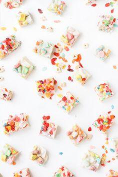 Breakfast Cereal Fudge for Kids
