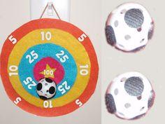 Velcro Bullseye & Ball Game craft