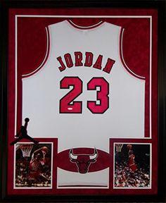 Michael Jordan Framed Jersey Signed UDA COA Upper Deck Chicago Bulls UpperDeck Mister Mancave http://www.amazon.com/dp/B01CYNGHC0/ref=cm_sw_r_pi_dp_O3E9wb143PVJ8
