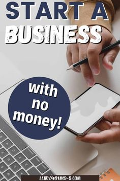 Tips and tricks to start a business with no money. Not all businesses require a substantial capital investment to start! Learn how you can start your own business with little to no upfront cash. Online Careers, Starting Your Own Business, Investing, Money, Learning, Tips, Advice, Studying, Teaching