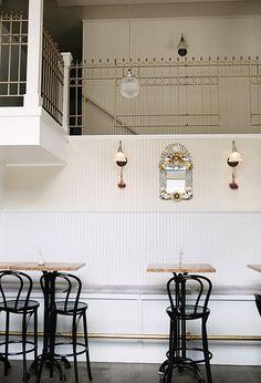 cafe interior via Design Sponge