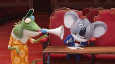 Sing Buster Moon 2016 Movie Animation Koala Wallpaper