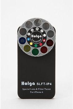 Holga Filter Lens iPhone Case