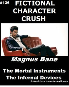 Infernal Devices Characters | ... 136 - Magnus Bane from The Mortal Instruments and The Infernal Devices