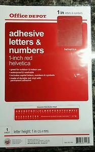 Vinyl-Letters-Numbers-1-Inch-Red-Stickers-Helvetica-indoor-outdoor-permanent