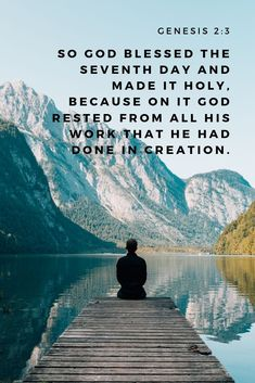 If God rested after working all week - then you can too. Don't miss the blessed and holy space that He has created for you in the Sabbath. Sabbath Rest, Happy Sabbath, Faith Quotes, Bible Quotes, Bible Verses, Saturday Sabbath, Happy Saturday, Sabbath Quotes, Esv Bible