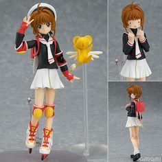 AmiAmi [Character & Hobby Shop] | figma - Cardcaptor Sakura: Sakura Kinomoto Uniform ver.(Pre-order)