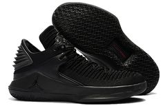 ff2a0211009 Jordan 32 basketball shoes low help one to one Black cat - Dicount Nike  Store