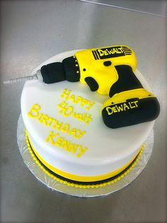 DeWalt Drill Cake | by Coco Cake Co.