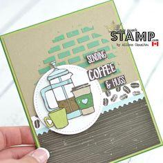 nice people STAMP!: Coffee Break Designer Paper: Be Inspired Blog Hop by Canadian Stampin' Up! Demonstrator Allison Okamitsu. www.NicePeopleStamp.com