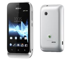 Sony Xperia tipo dual. Android smartphone with 2 SIM cards