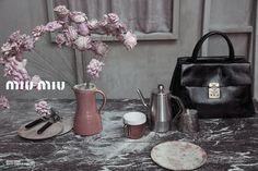 Miu Miu S/S 2013 ad campaign setting photos by Inez & Vinoodh