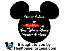 Walt Disney World Freebies Pocket Guides: Disney transportation trading cards, pixie dust, pirate lessons, free Fast Passes. Good info