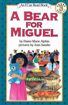 A Bear for Miguel by Elaine Marie Alphin  --El Salvador--