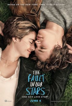 The fault in our stars - American romantic comedy-drama, based on a novel of the same name, 2014