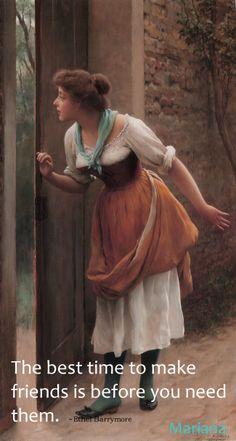 The Eavesdropper 1906 By Blaas, Eugene de