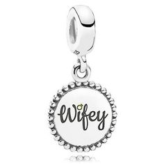 >>>Pandora Jewelry OFF! >>>Visit>> Pandora Wifey Dangle Charm: Precious Accents Ltd. Bracelet Pandora Charms, Pandora Rings, Pandora Jewelry, Charm Jewelry, Pandora Accessories, Pandora Pandora, Baby Jewelry, Jewelry Tags, Art Deco Jewelry