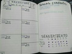 My weekly planner!! For me it's perfect because I have a little space for my appointments, A little habit tracker and enough space for tasks without a concrete date!__________________ Mi planning semanal! Para mí es perfecto porque tengo un poco de espacio para mis citas, un pequeño seguimiento de mis hábitos y espacio para mis tareas sin fecha concreta!   #Bullet #Journal #BuJo #Planner #Week #Agenda #Semana #Tracker #Seguimiento #Habits #Habitos