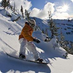 Обучение катанию на сноуборде в Шерегеше