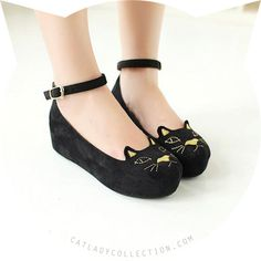 ♥ Cat Platform Shoes-- cute ^.^