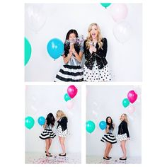 """""""It's always a party with @workinggirlinc 