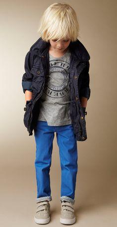 Enfants à la mode