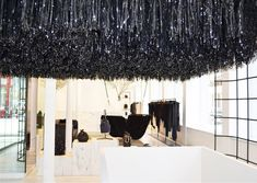 Alexander Wang Flagship Store in Soho, New York Porches, Alexander Wang, Fashion Showroom, Honey Walnut Shrimp, Healthy Living Magazine, Shop Icon, Shop Front Design, Facade House, Shop Interior Design