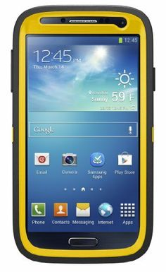 OtterBox Defender Series Case for Samsung Galaxy S4 - Frustration-Free Packaging - Hornet (Sun Yellow/Black), http://www.amazon.com/dp/B00GB39II0/ref=cm_sw_r_pi_awtm_M59htb0RVPT1T