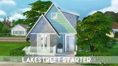The Plumbob Architect: Lakestreet Starter Home • Sims 4 Downloads
