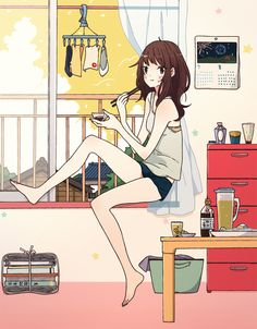 Find images and videos about cute, anime and manga on We Heart It - the app to get lost in what you love. Friend Zone, Manga Illustration, Illustrations, Manga Art, Anime Art, Bts Art, Awesome Anime, Cute Wallpapers, Live Action