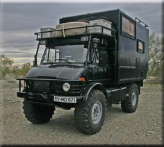 "DO THIS - Living in Luxury, off the grid, now that's ""roughing it"" - Unimog 416 Expedition Truck"