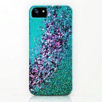 Blue Ombre Glitter iPhone 5 Case - Cute Ombre Glitter iPhone 5 Case for Women
