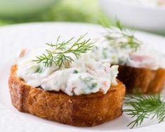 Rillettes de crabe à la crème légère