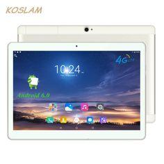 """4G Android 6.0 Tablet PC Tab Pad 10 Inch 1920x1200 IPS Quad Core 2GB RAM 16GB ROM Dual SIM Card LTD FDD Phone Call 10"""" Phablet"""