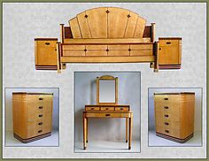 Interesting Art Deco Bedroom Furniture with 116 Best Art Deco Bedroom Furniture Images On Home Decor Art Deco Art Deco Decor, Art Deco Design, Contemporary Bedroom Sets, Muebles Art Deco, Art Deco Bedroom, Dream Bedroom, Art Nouveau Furniture, Art Deco Period, Art And Architecture