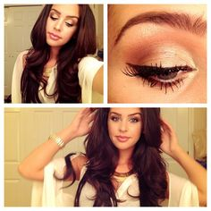 Love her makeup and hair