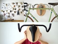 Bike mount for wall build yourself - 30 ideas, instructions - Decor ideas for you 2018