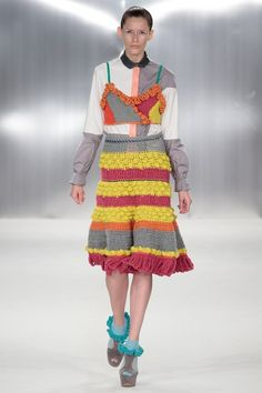 Catwalk photos and all the looks from De Montfort University  Spring/Summer 2015 Ready-To-Wear London Fashion Week