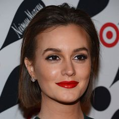 Leighton Meester Shows off the One Makeup Move We Command You to Try This Holiday Season