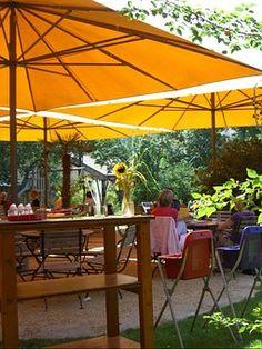 Garden Cafe, Screen, Orange