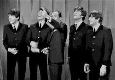 the beatles Paul McCartney john lennon ringo starr george harrison ed sullivan show