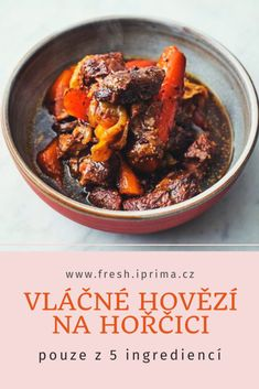 #hovezi #maso #recept #primafresh Beef, Recipes, Food Recipes, Rezepte, Ox, Recipe, Cooking Recipes, Steak