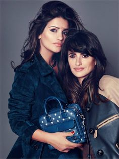 The Cruz Bag – Spanish leather wares label Loewe has teamed up with brand ambassador Penélope Cruz and her sister Mónica for a new bag named the Cruz. The duo worked on a re-edition of Loewe's well-known Amazona bag, making it available in three different sizes with both polka-dot and plain versions. The campaign images were captured by Nico and star Penélope and Mónica.