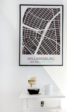 Put a reminder of your favorite place on a wall with the help of Grafomap.com !//