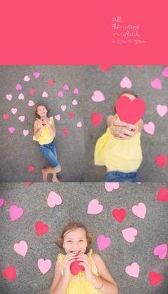 Valentines Day mini photo session