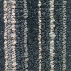 Coverdale Grey 100% Polypropylene Grey Stripe Felt Backed Carpet