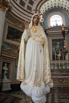 Mother Mary. Mosta Dome - Malta